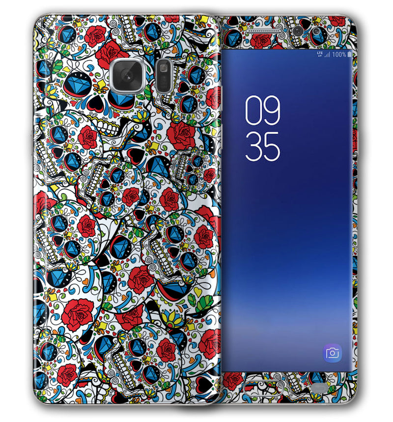 Galaxy Note 5 Sugar Skulls Collection - JW Skinz