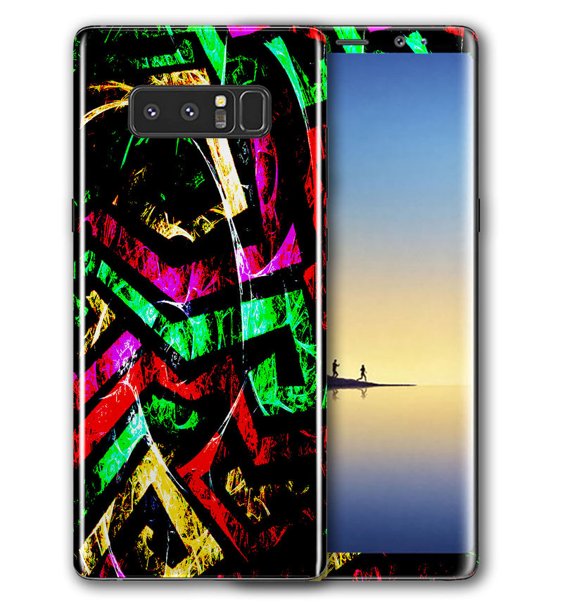 Galaxy Note 8 Phone Skins Abstract - JW Skinz