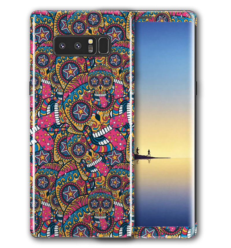 Galaxy Note 8 Phone Skins Sugar Skulls - JW Skinz