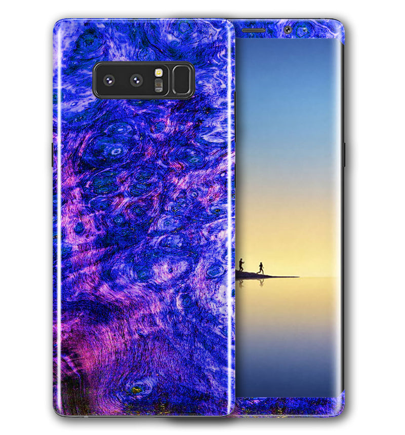 Galaxy Note 8 Phone Skins Stabilized Wood - JW Skinz