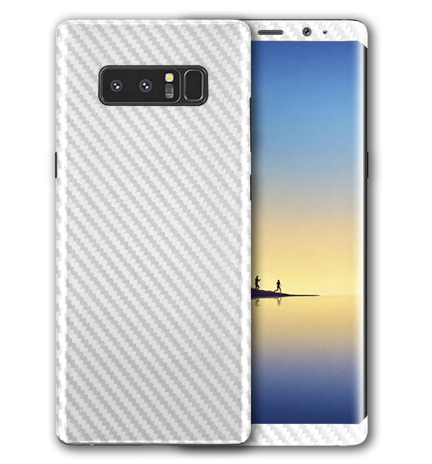Galaxy Note 8 Phone Skins Carbon