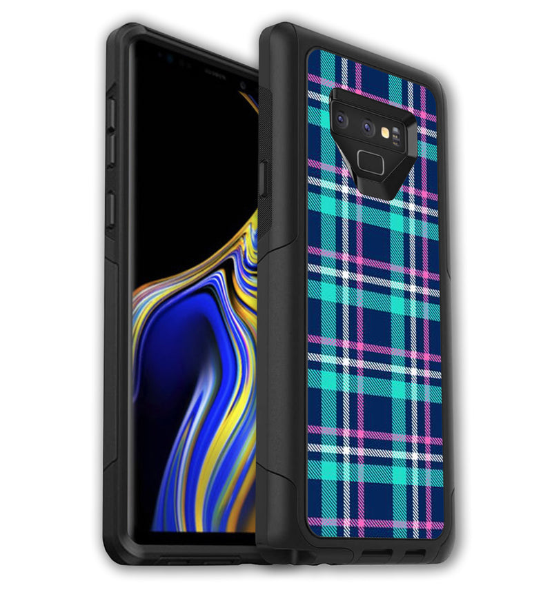 OtterBox Commuter Skins Galaxy Note 9 Plaid - JW Skinz