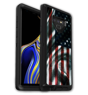 OtterBox Defender Skins Galaxy Note 9 Freedom - JW Skinz