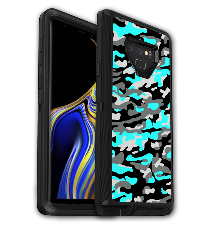 OtterBox Defender Skins Galaxy Note 9 Camo - JW Skinz