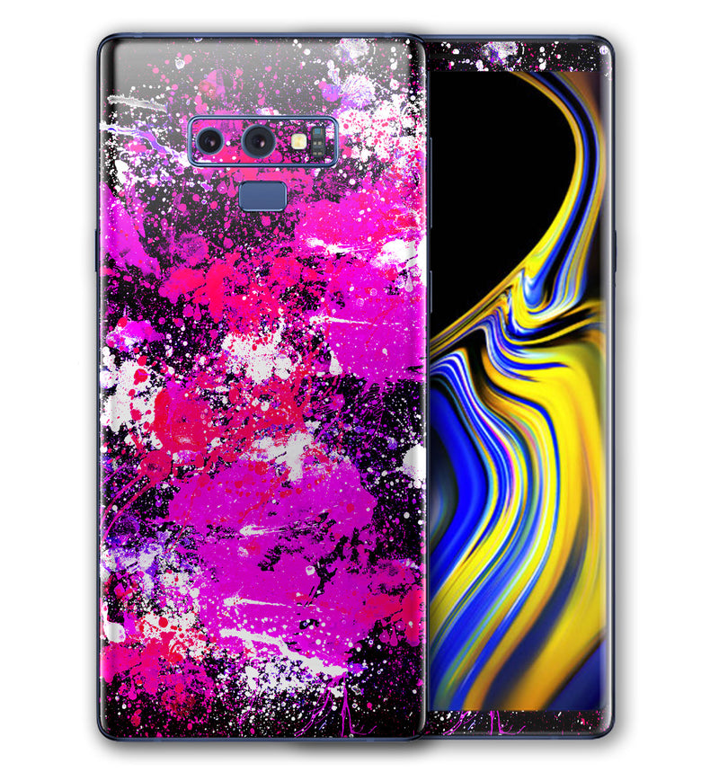 Galaxy Note 9 Phone Skins Paint Splatter (Pre-Order)