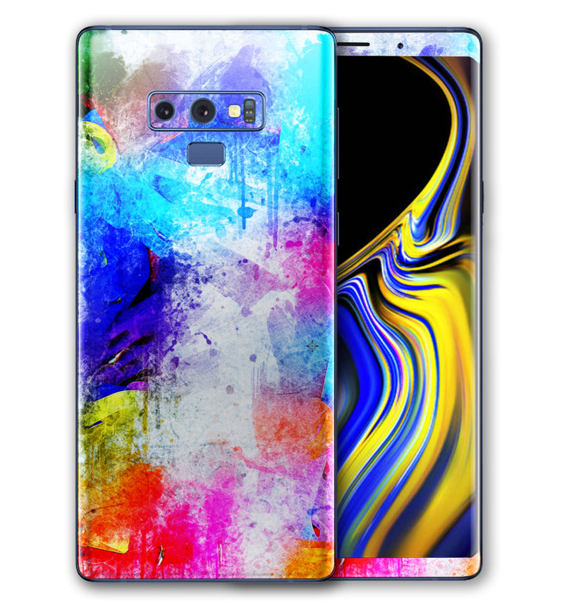 Galaxy Note 9 Phone Skins Paint Splatter - JW Skinz