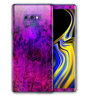Galaxy Note 9 Phone Skins Stabilized Wood - JW Skinz