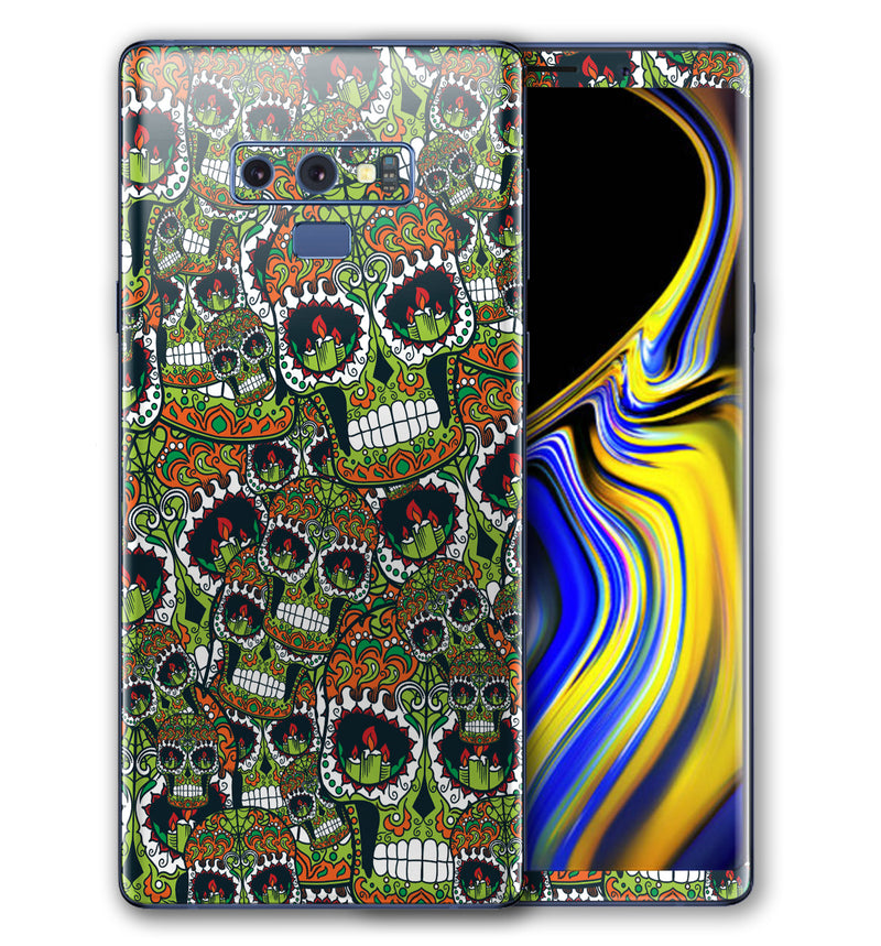 Galaxy Note 9 Phone Skins Sugar Skulls (Pre-Order)