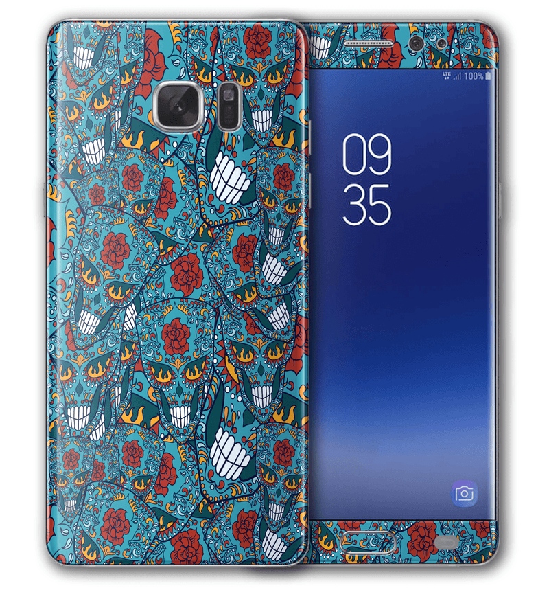 Galaxy Note 7 Sugar Skulls Collection - JW Skinz