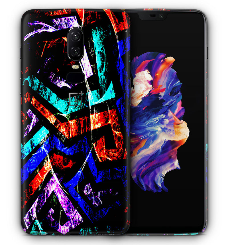 OnePlus 6 Phone Skins Abstract