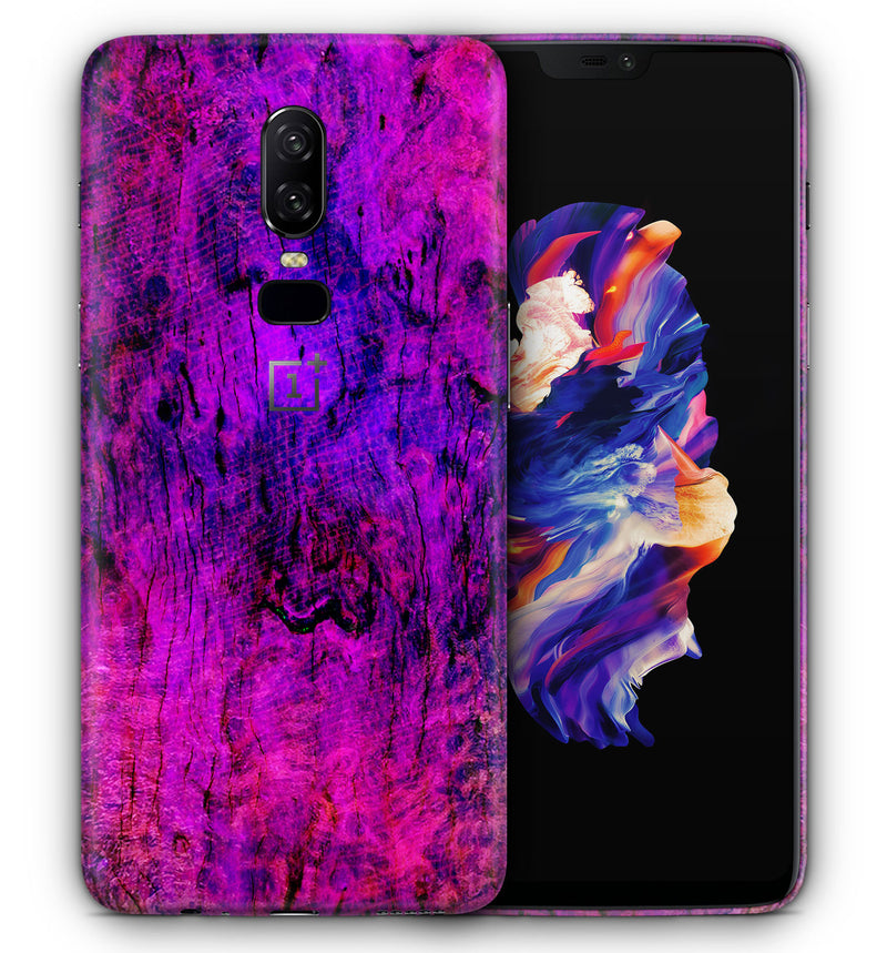 OnePlus 6 Phone Skins Stabilized Wood