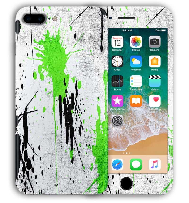 iPhone 7 Plus Phone Skins Paint Splatter - JW Skinz