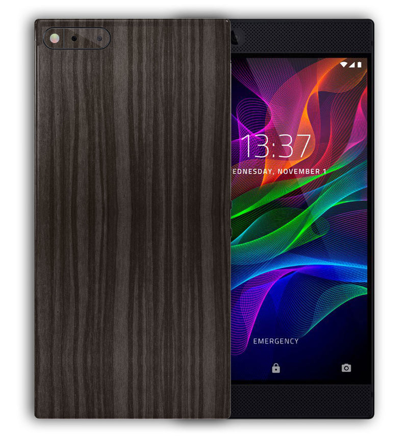 Razer Phone Woodgrain Collection - JW Skinz