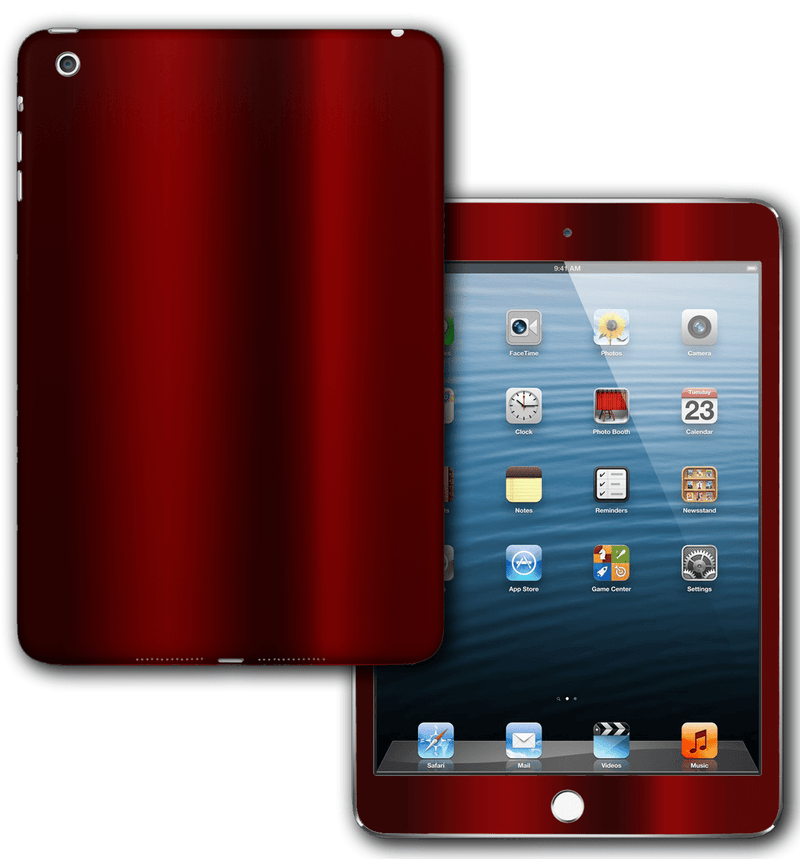 iPad Mini 3 / Mini 4 Chrome Skins - JW Skinz