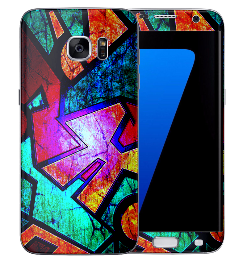 Galaxy S6 Edge Abstract Collection - JW Skinz
