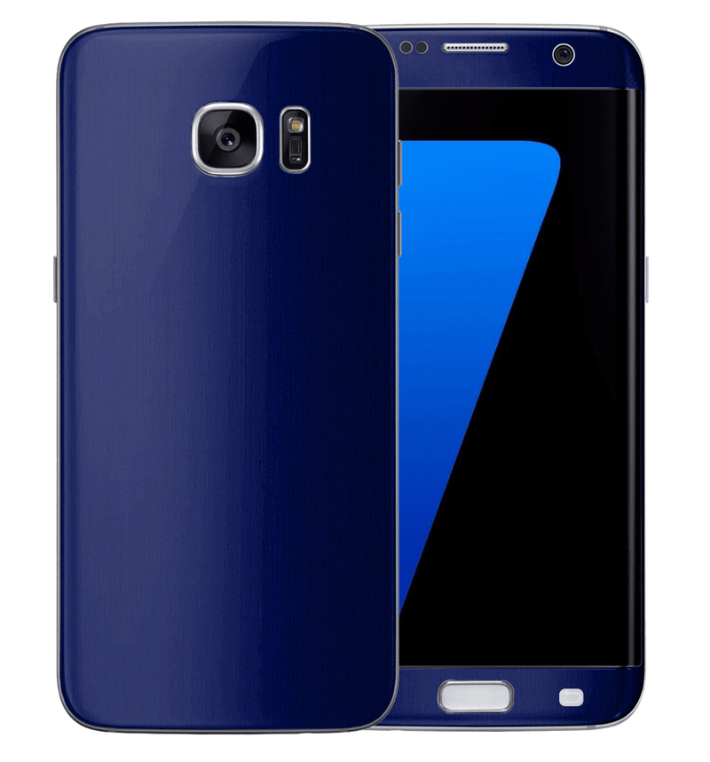 Galaxy S7 Edge Brushed Aluminum Collection - JW Skinz