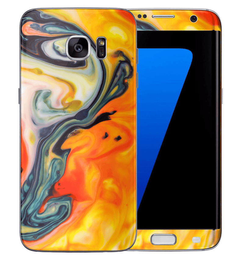 Galaxy S6 Edge Marble Collection - JW Skinz