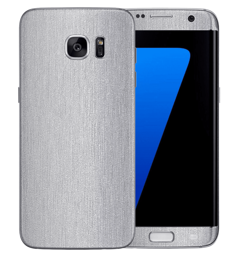 Galaxy S6 Edge Brushed Aluminum Collection - JW Skinz