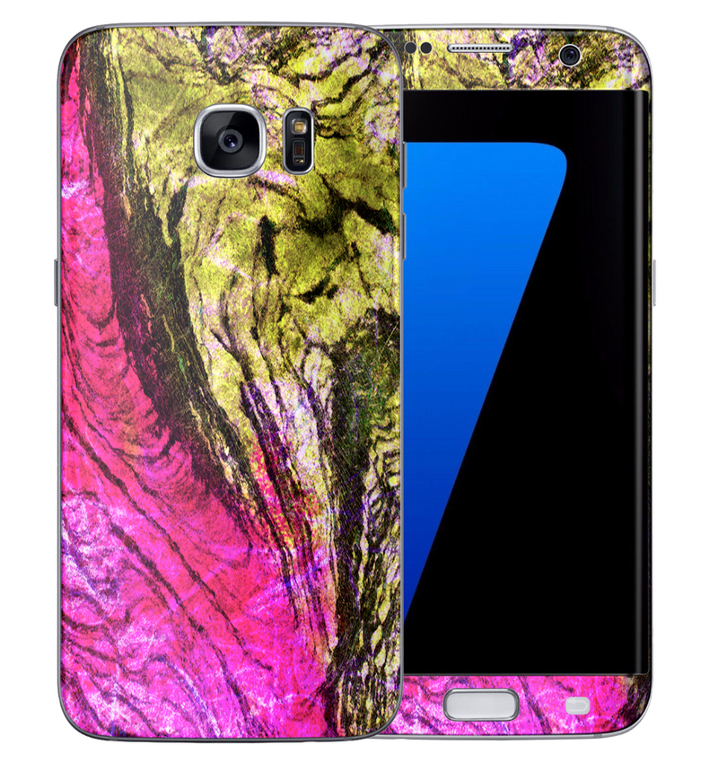 Galaxy S7 Edge Stabilized Wood Collection - JW Skinz