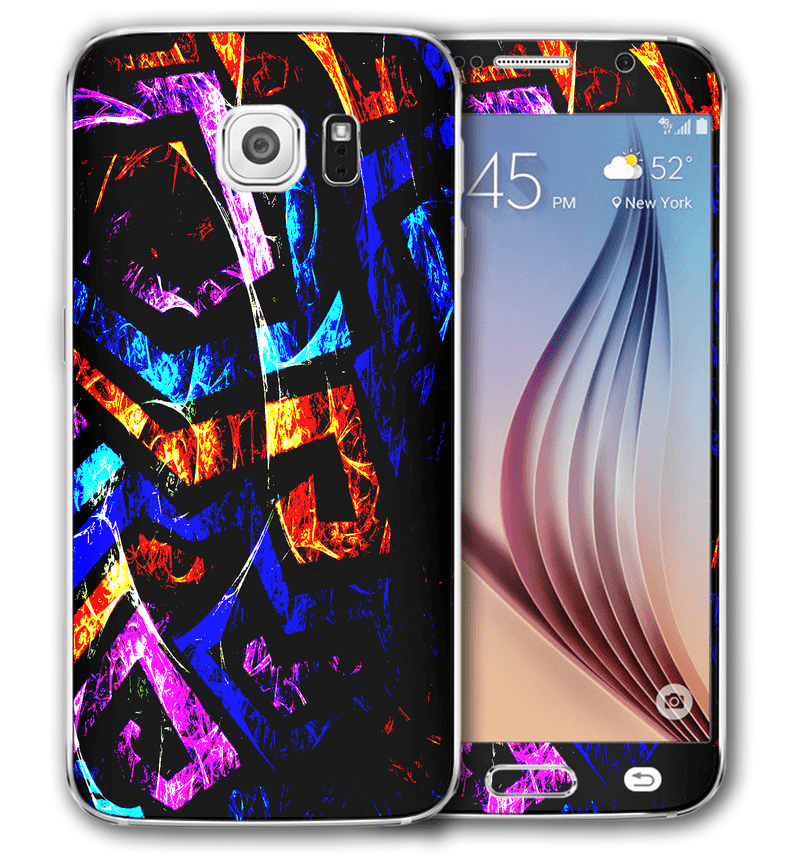 Galaxy S6 Abstract Collection - JW Skinz