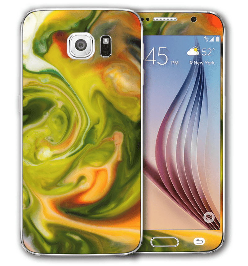 Galaxy S6 Marble Collection - JW Skinz