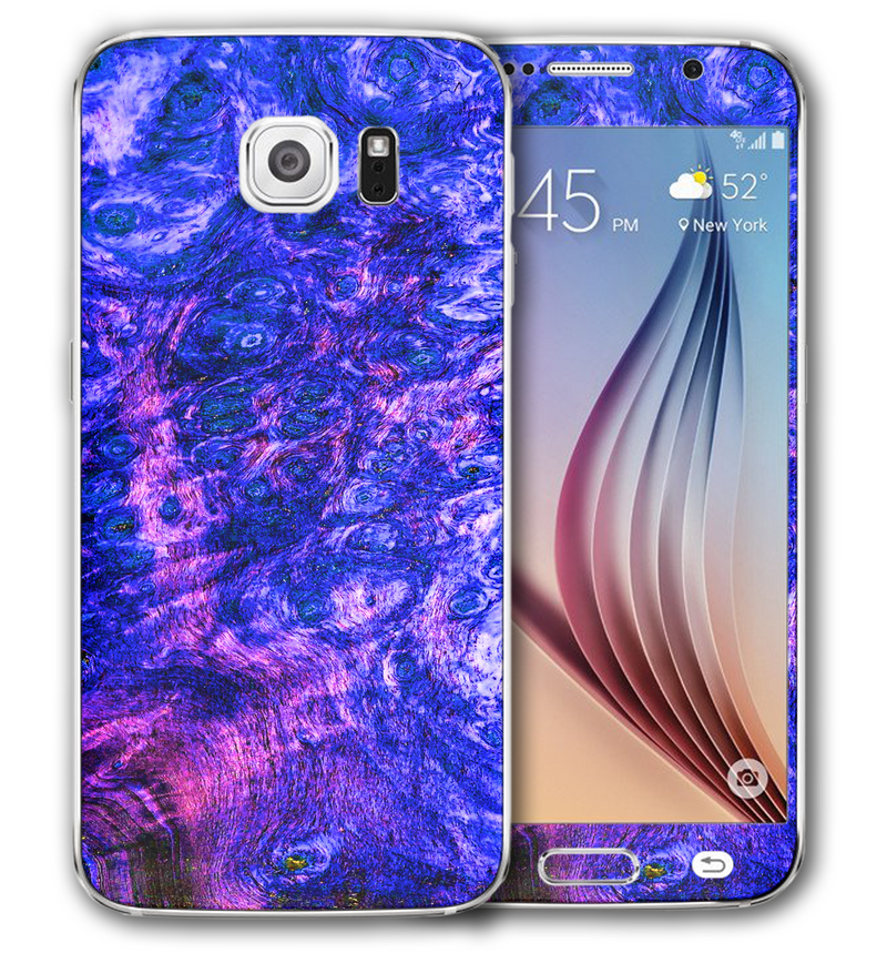 Galaxy S6 Stabilized Wood Collection - JW Skinz