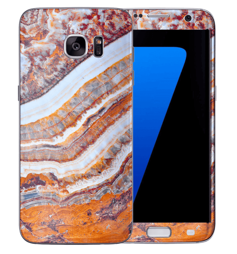 Galaxy S7 Marble Collection - JW Skinz