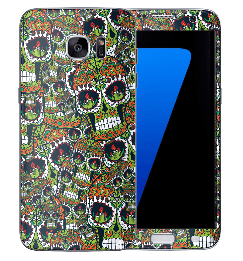 Galaxy S7 Sugar Skulls Collection - JW Skinz