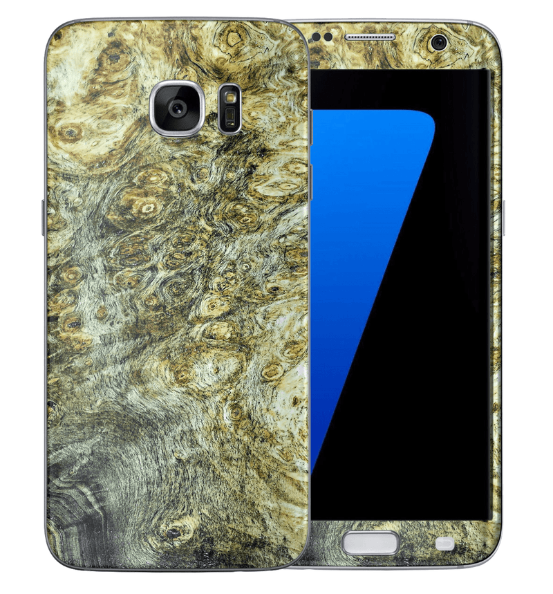 Galaxy S7 Stabilized Wood Collection - JW Skinz