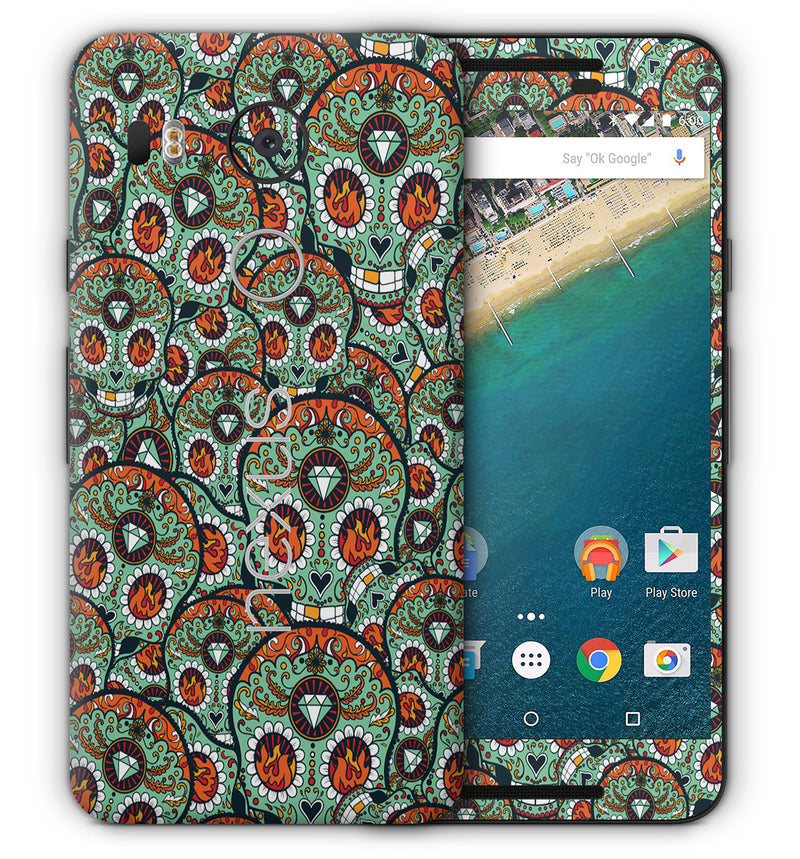 Google Nexus 5X Sugar Skulls Collection - JW Skinz
