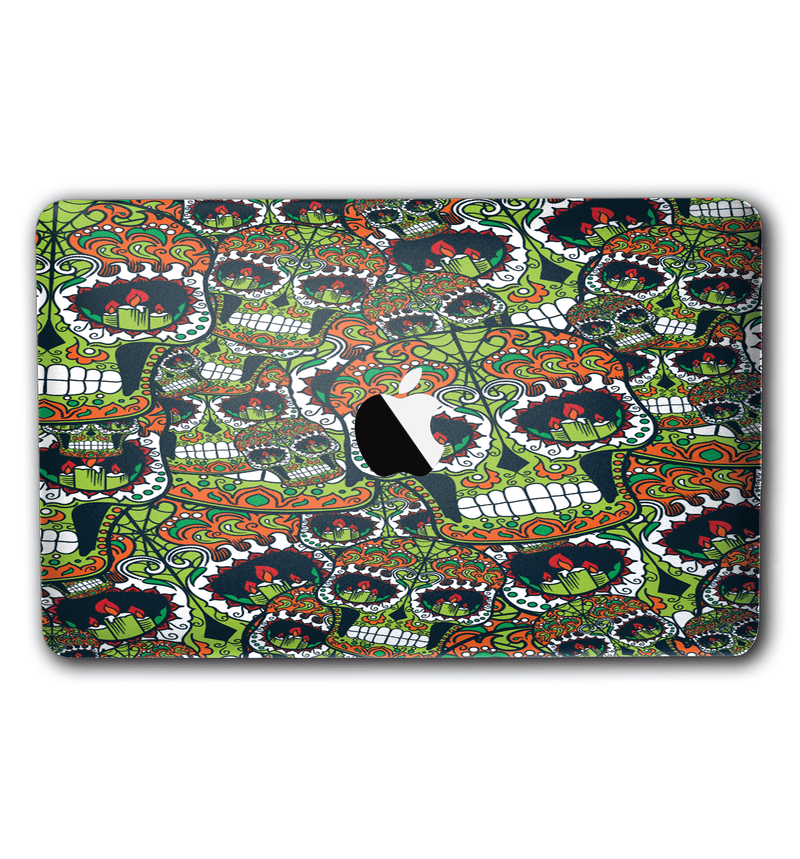 "Macbook 12"" Sugar Skulls Collection - JW Skinz"