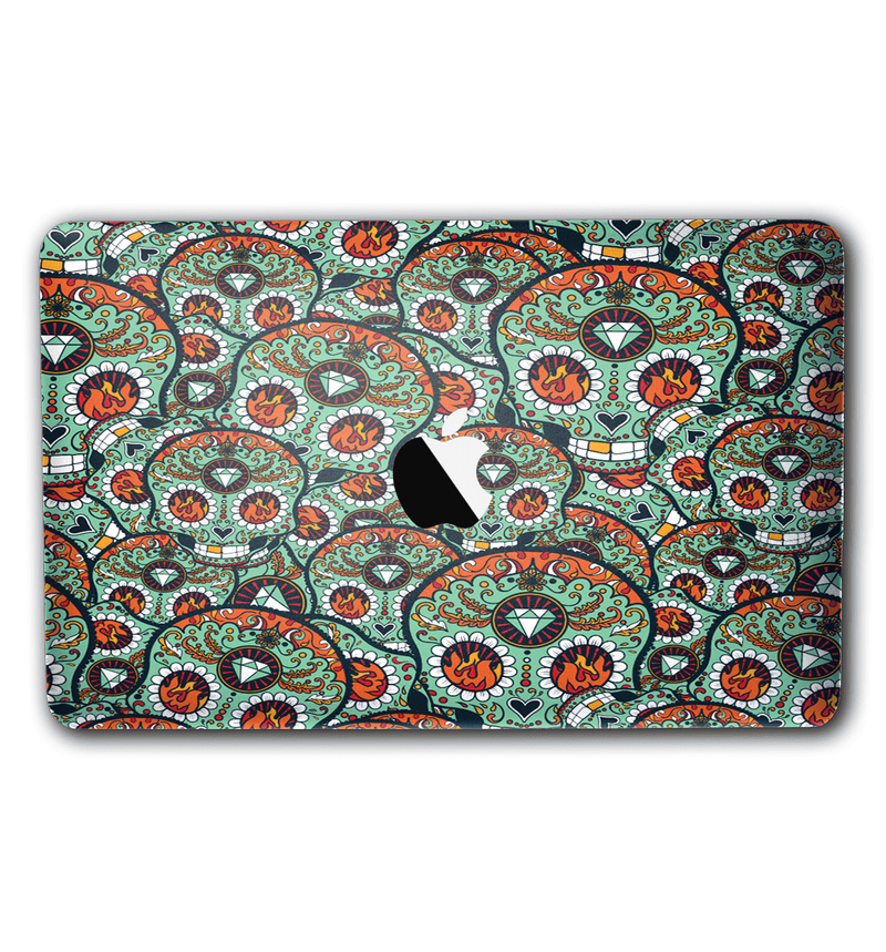 "Macbook Pro 13"" with Touch Bar Sugar Skulls Collection - JW Skinz"