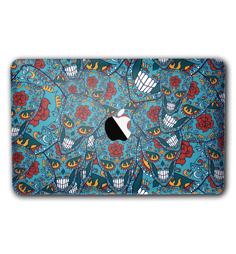 "Macbook Air 11"" Sugar Skulls Collection - JW Skinz"