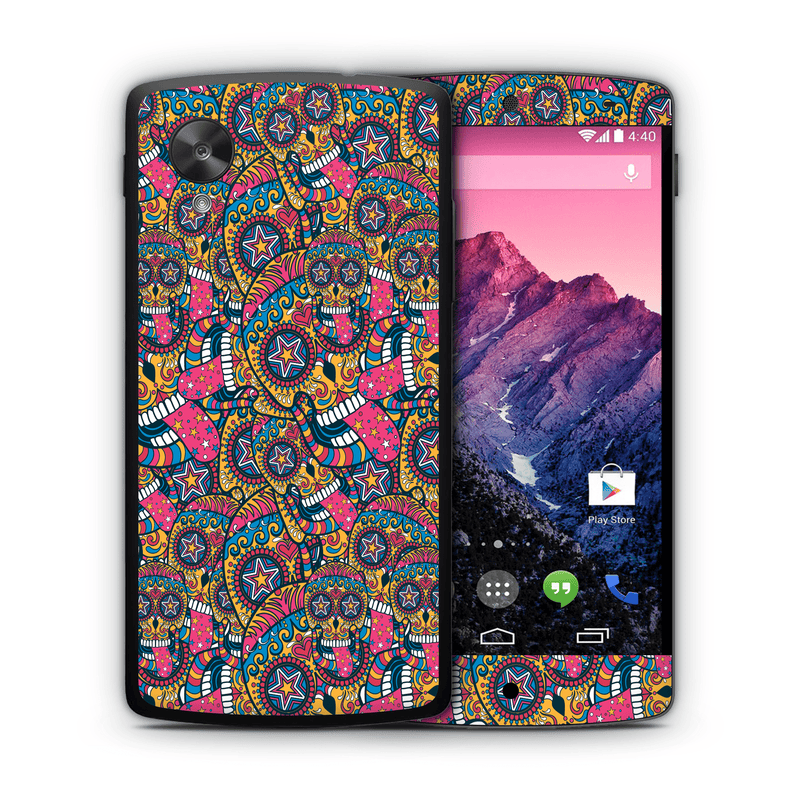 Google Nexus 5 Sugar Skulls Collection - JW Skinz