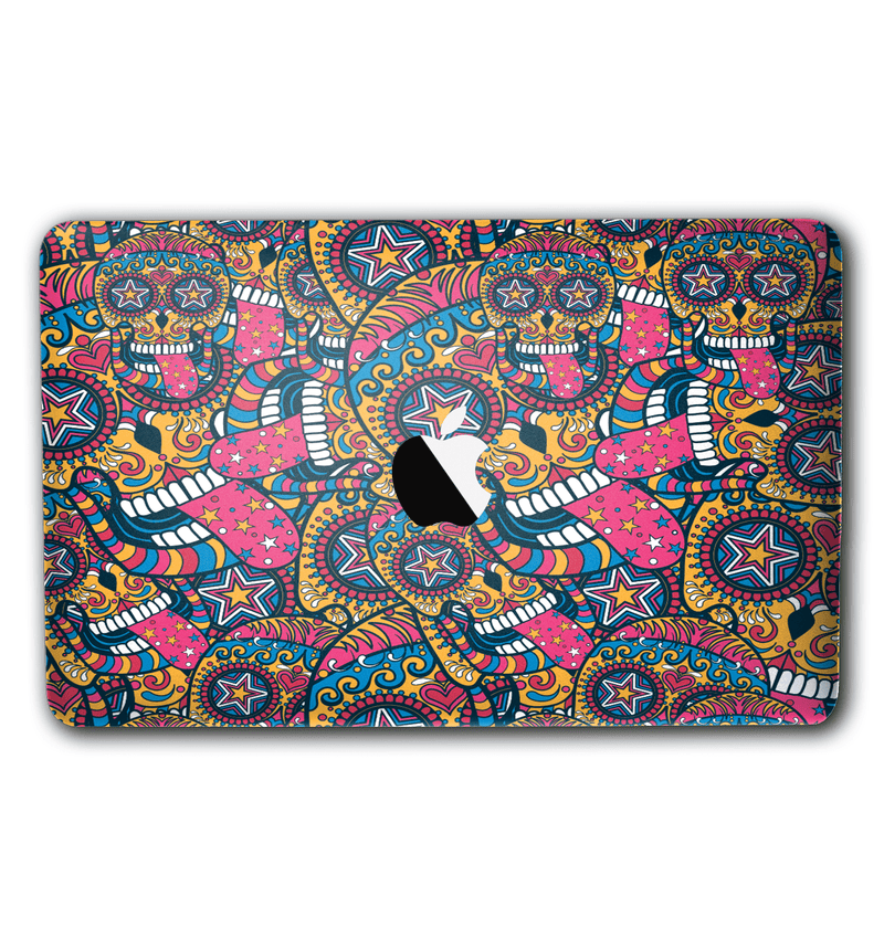 "Macbook Pro 13"" without Touch Bar Sugar Skulls Collection - JW Skinz"