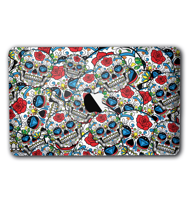 "Macbook Pro 15"" with Touch Bar Sugar Skulls Collection - JW Skinz"