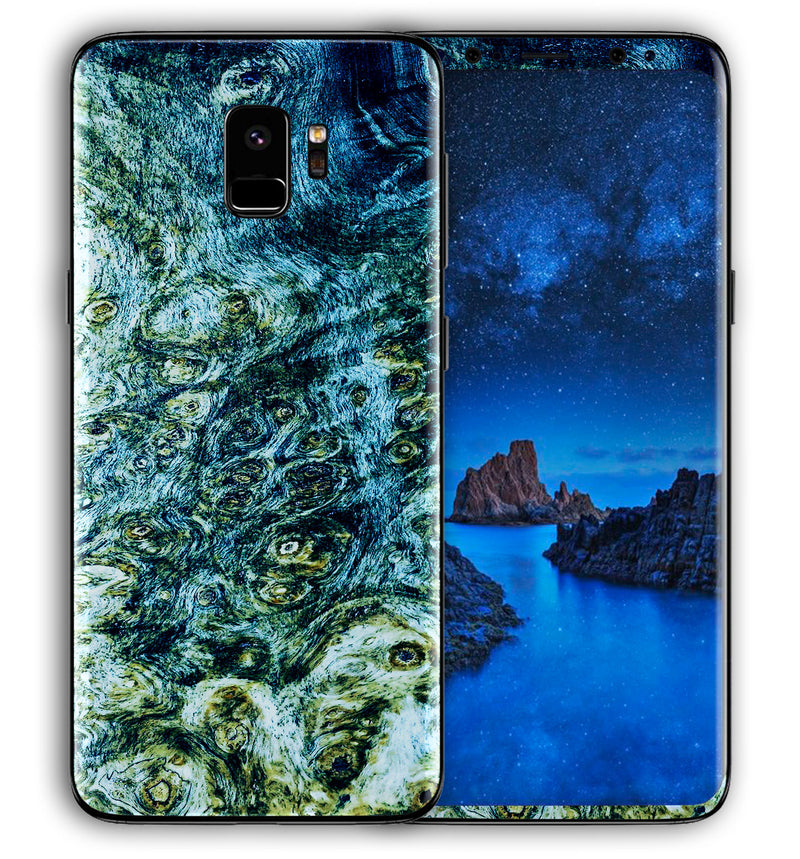 Galaxy S9 Phone Skins Stabilized Wood - JW Skinz