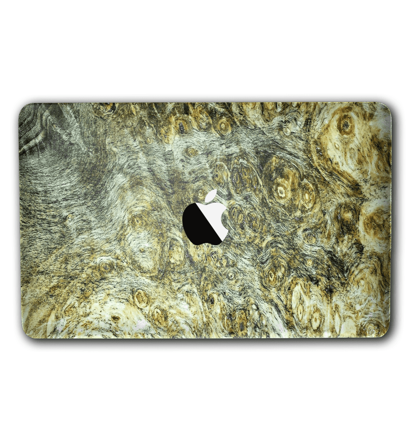 "Macbook Pro 13"" without Touch Bar Stabilized Wood Collection - JW Skinz"
