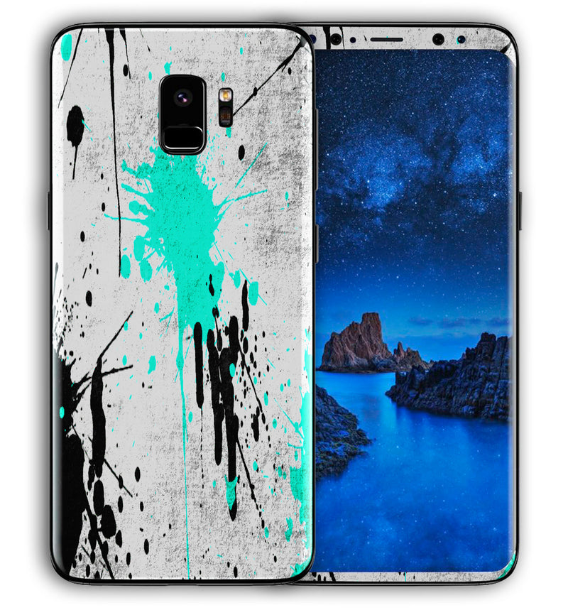 Galaxy S9 Phone Skins Paint Splatter - JW Skinz