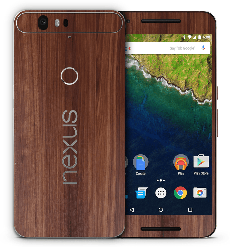 Google Nexus 6P Woodgrain Collection - JW Skinz