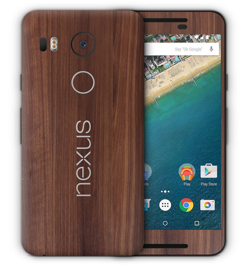 Google Nexus 5X Woodgrain Collection - JW Skinz