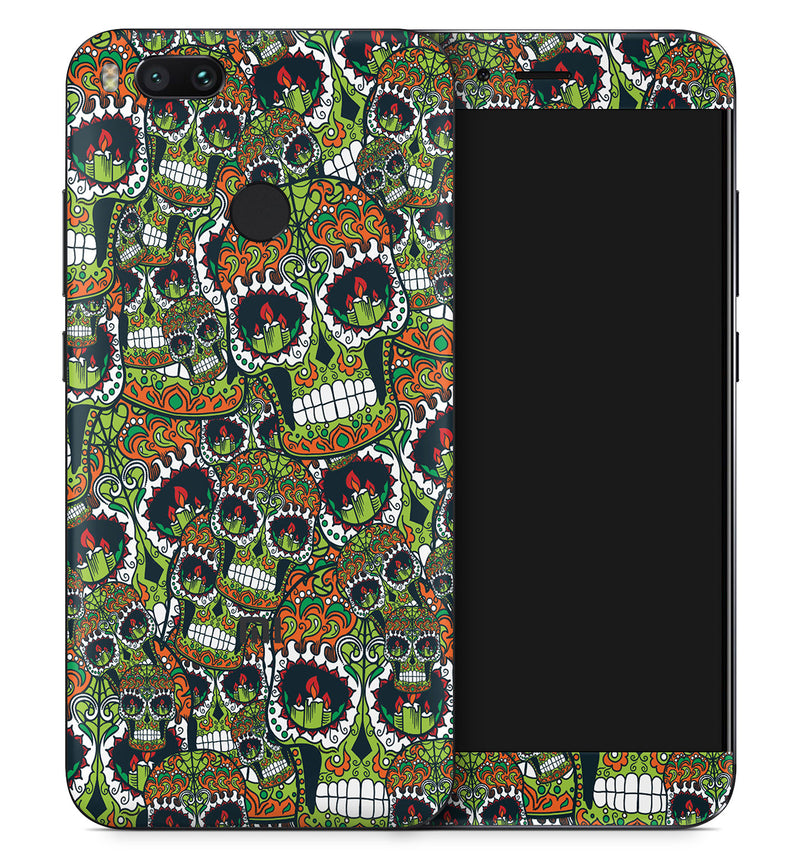 Xiaomi Mi A1 Sugar Skulls Collection - JW Skinz