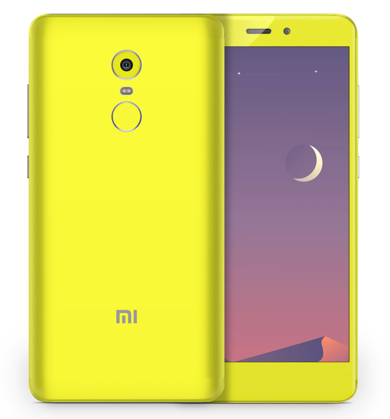 Xiaomi Redmi Note 4 Phone Skins Fluorescent