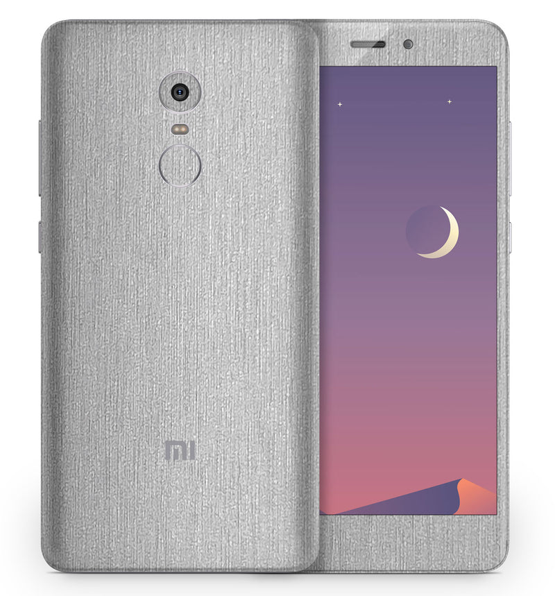 Xiaomi Redmi Note 4 Phone Skins Brushed Aluminum - JW Skinz