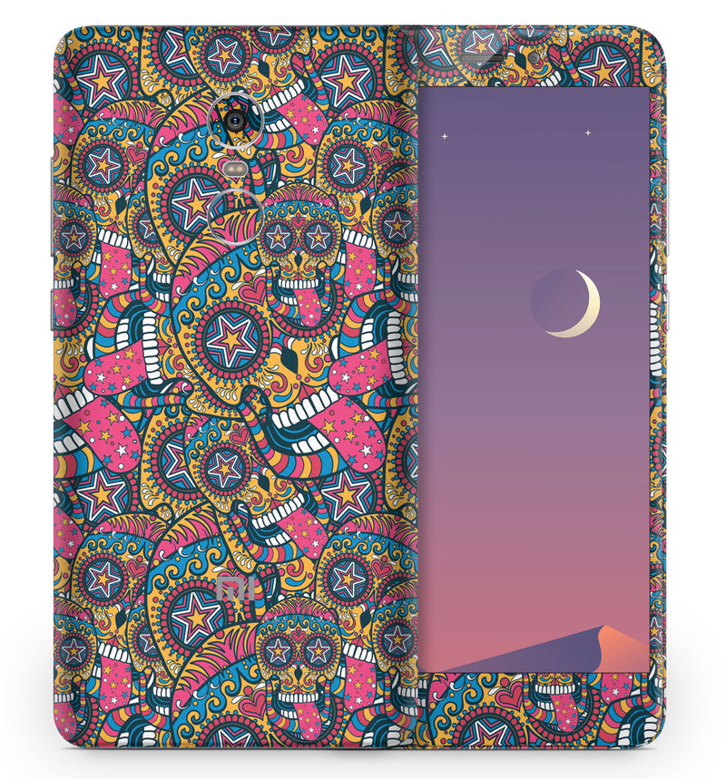Xiaomi Redmi Note 4 Sugar Skulls Collection - JW Skinz