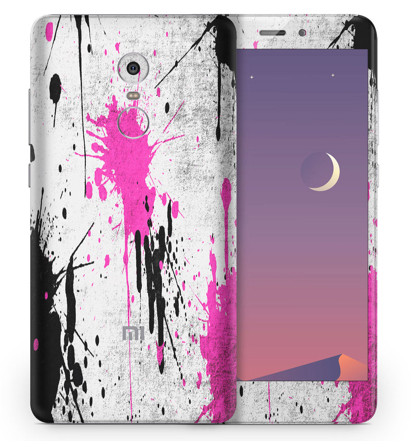 Xiaomi Redmi Note 4 Paint Splatter Collection - JW Skinz