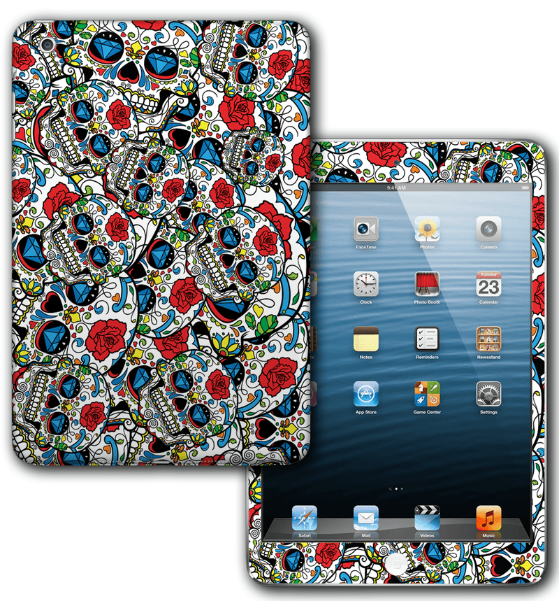 iPad mini / mini 2 Sugar Skulls Collection - JW Skinz