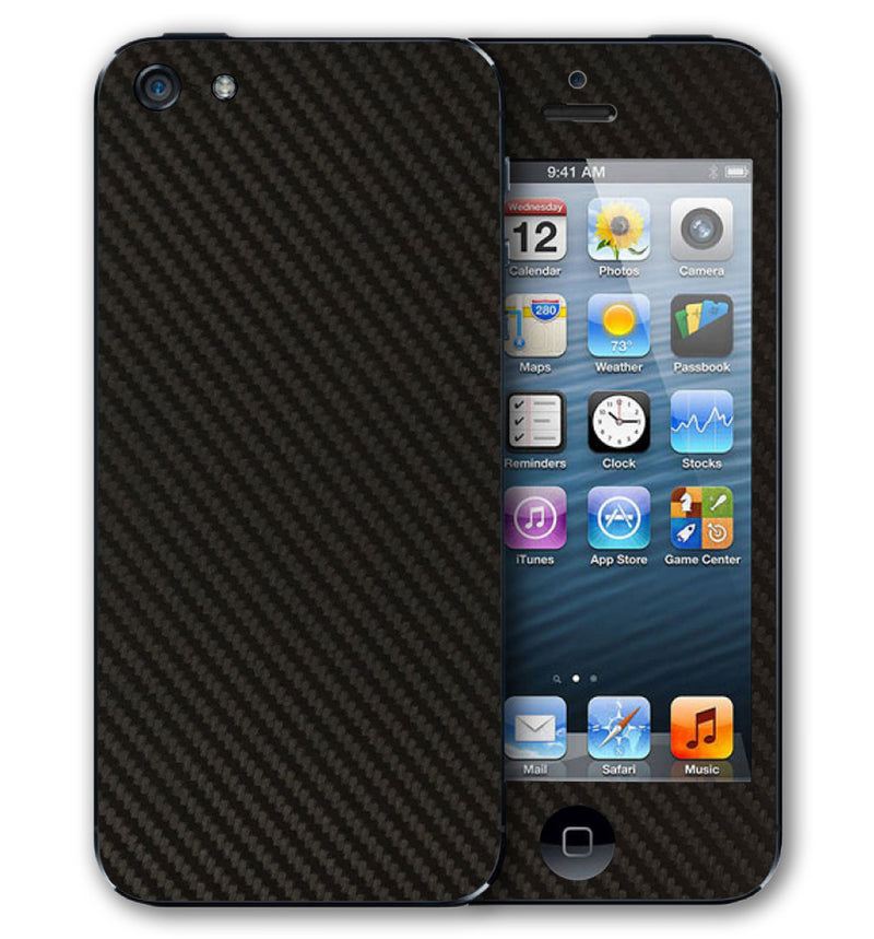 iPhone 5 Phone Skins Carbon Fiber - JW Skinz
