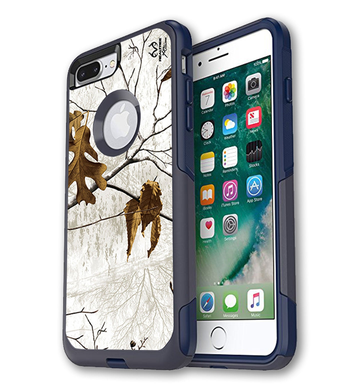best loved 74d17 76121 iPhone 7/8 Plus OtterBox Commuter Case Skins