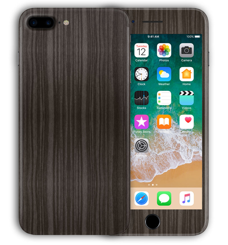 iPhone 7 Plus Phones Skins Wood Grain - JW Skinz